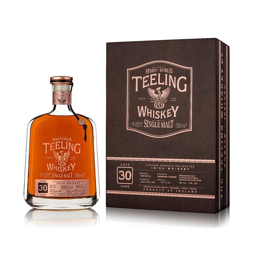 Fles - Whisky - Teeling - Reserve - 30y - Ex white burgundy - 0,7 - 46%