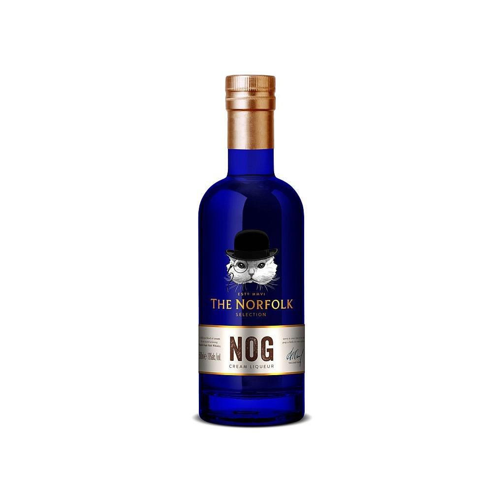 Fles - Whisky - The English Whisky Company - Norfolk - NOG - Whiksy Cream - 0,5 - 19%