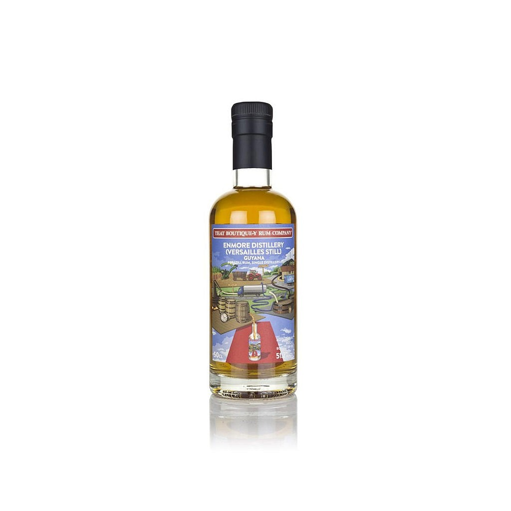 Fles - Rum - That Boutique-y Rum Company - Enmore - 27y - #1 - 0,5l - 51,2%