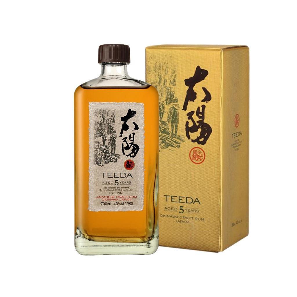 Fles & Case - Rum - BBC - Japan - Teeda - 5y - 0,7l -40%