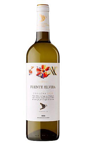 Fles - Wijnen - Portugal - Rueda - Bodegas - Pedro Escudero -Fuente Elvira DO - 12,5% - 0,75l