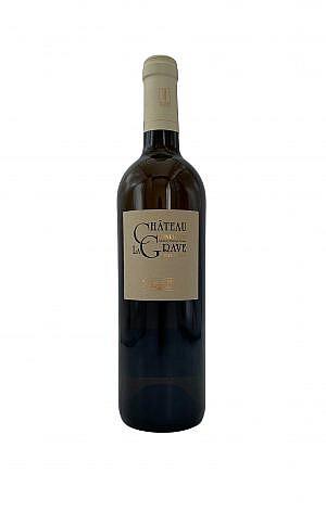 Fles - Wijnen - Frankrijk - Minervois - Chateau la Grave - Privilege Blanc Minervois - 0,75l