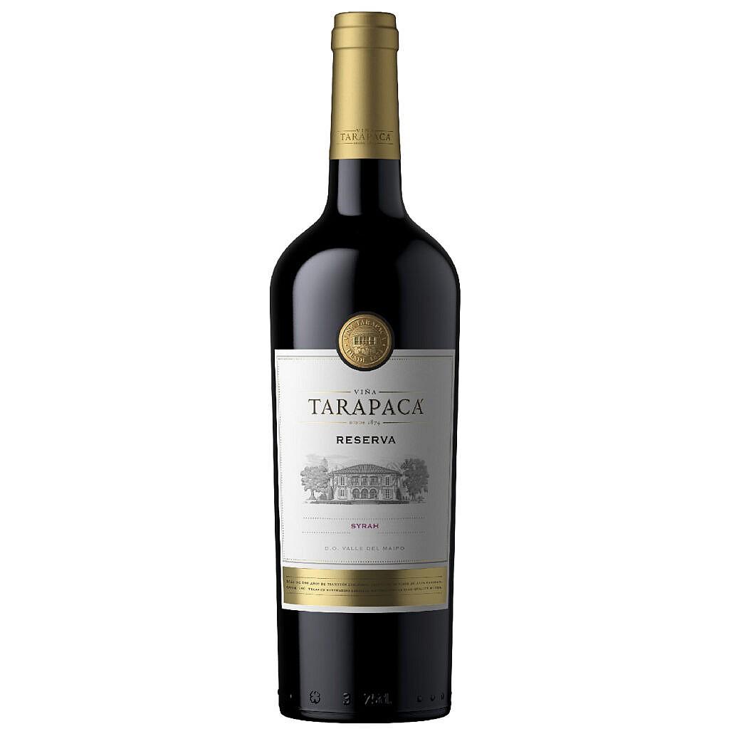 Fles - Wijnen - Chili - Tarapaca - Reserva - Syrah - 0,75 l - 12,5%