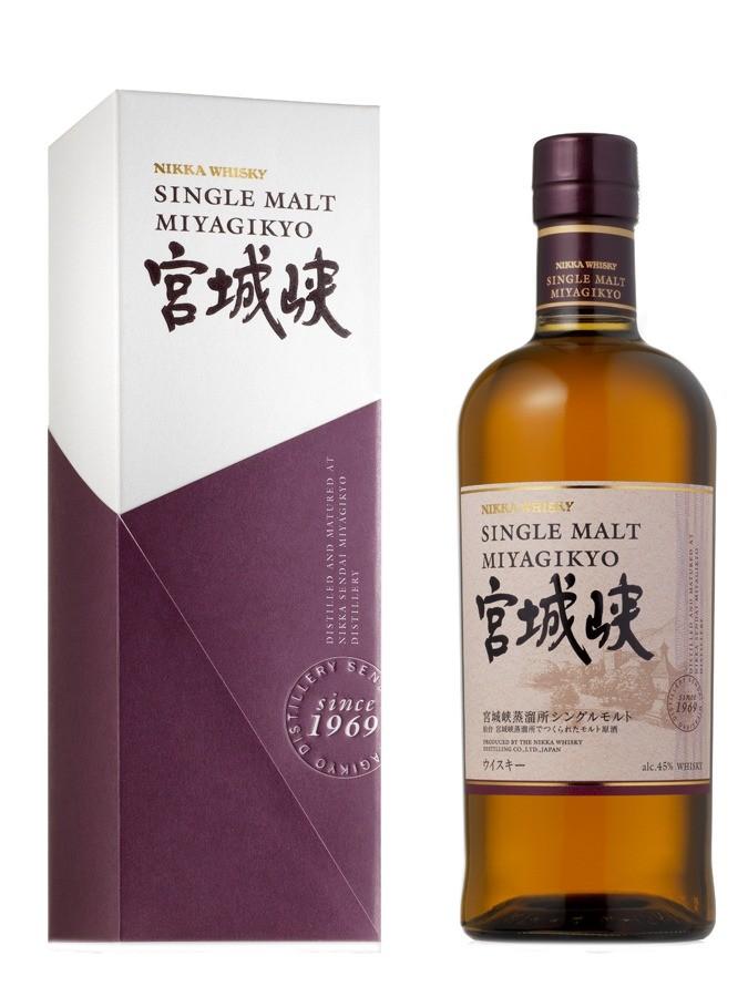 Fles & Case - Whisky - Japan - Nikka - Miyagikyo Single Malt - 45% - 0,7l
