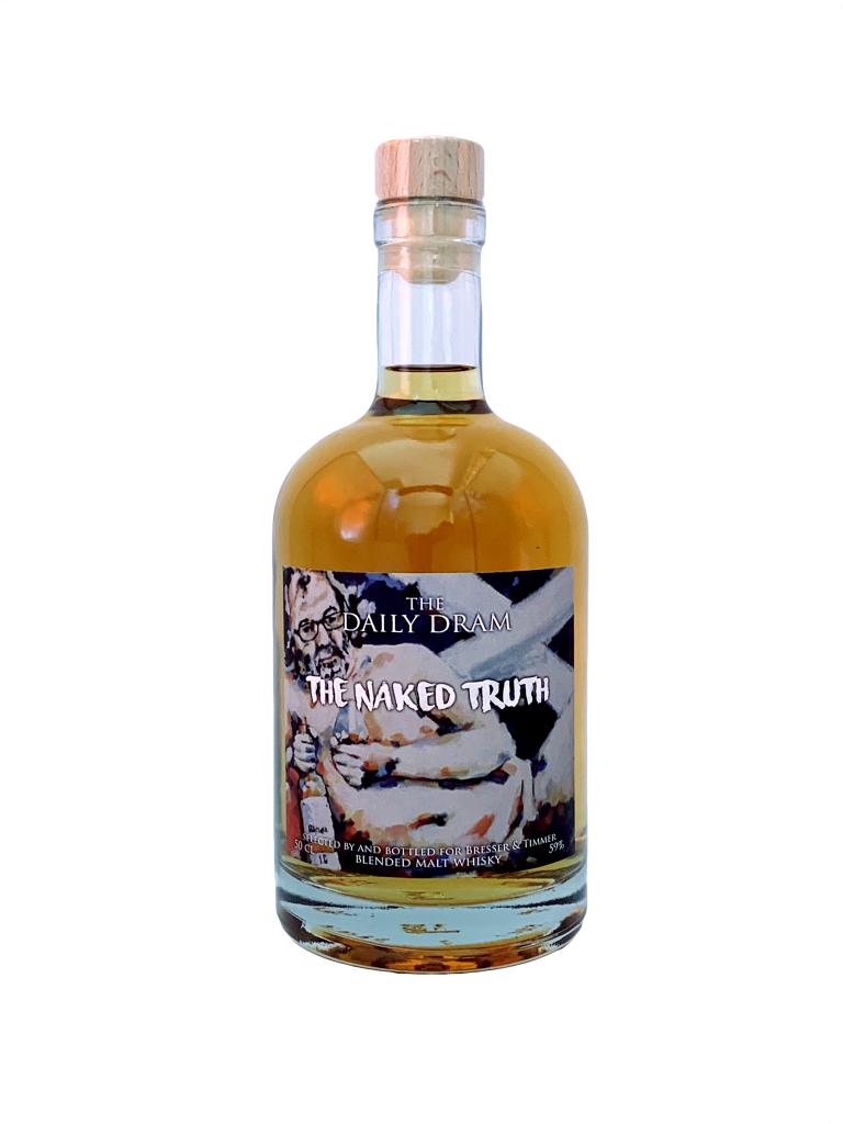 Fles - Whisky - Daily Dram - The Naked Truth - Blended Malt - 59% - 0,5l
