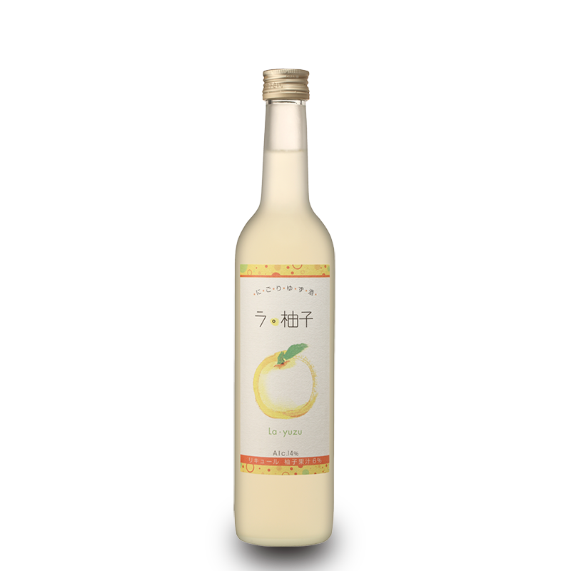 Fles - Likeuren - La Yuzu - 0,5l - 14%