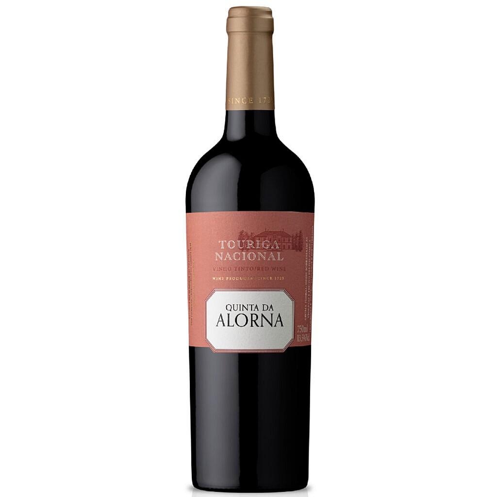 Fles - wijnen- quinta da alorna - touringa nacional - 0,75l - 13,5%