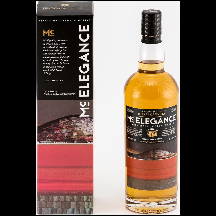 Fles - Whisky - House of McCallum - McElegance - Sauternes Finish - 43,5% - 0,7l