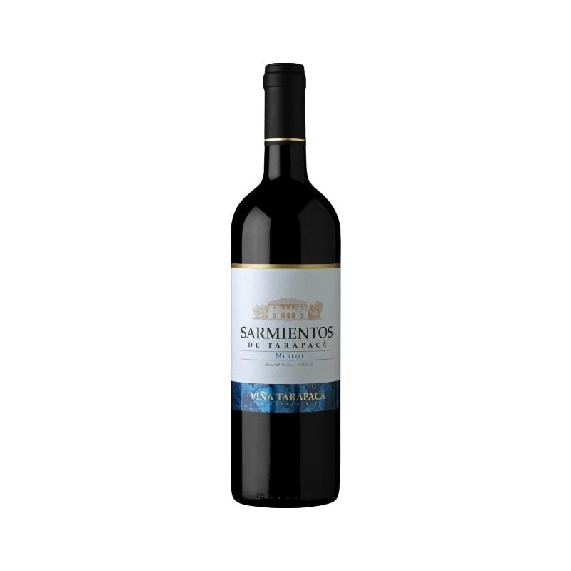 Fles - Wijnen - Chili - de Tarapacá - Sarmientos - Merlot - 13% - 0,75l