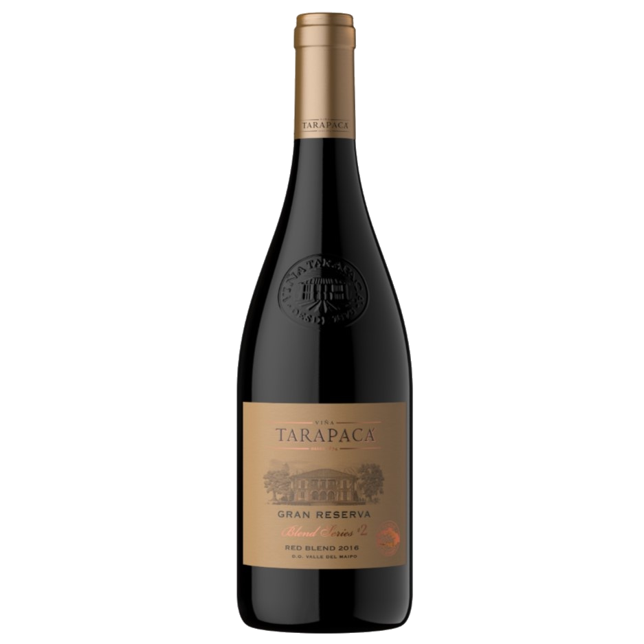 Fles - Wijnen - Chili - Tarapacá -Tarapacá Gran Reserva Blend serie # 2 Red Blend - 13,5% - 0,75l