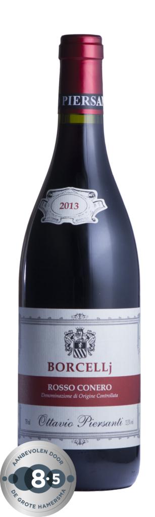 Fles - Wijnen - Italië - Piersanti - Borcellj - rosso conero - 13,5 % - 0,75l