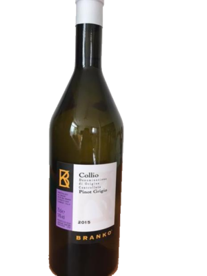 Fles - Wijnen - Italië - Branko - Collio - Pinot Grigio - 0,75l