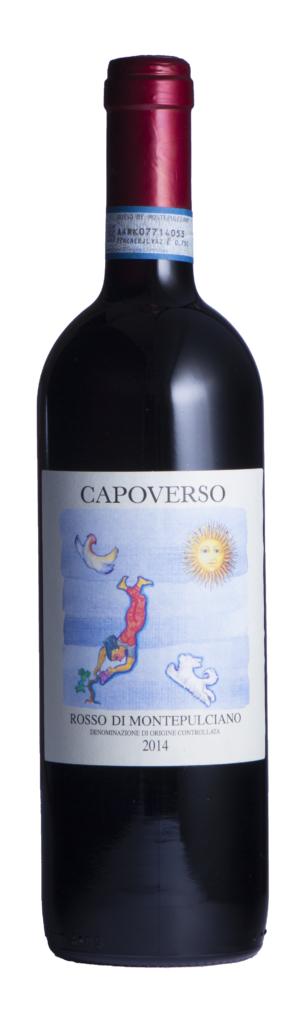 Fles - Wijnen - Italië - Capoverso - Rosso di Montepulciano - 0,75l