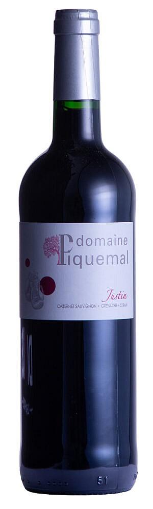 Fles - Wijnen - Frankrijk - Domaine Piquemal - Justin Rouge - 0,75l