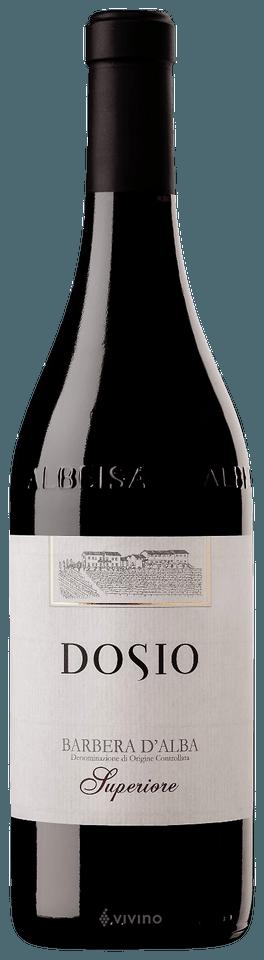 Fles - Wijnen - Italië - Dosio - Barbera d'Alba - 13,5% - 0,75l