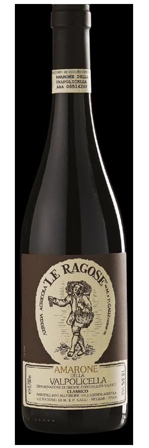 Fles - Wijnen - Italië - Le Ragose - Amarone Classico - 0,75l
