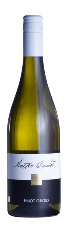 Fles - Wijnen - Italië - Matteo Braidot - Pinot Grigio