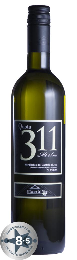 Fles - Wijnen - Italië = Q311 Verdicchio Piersanti - 0,7l -