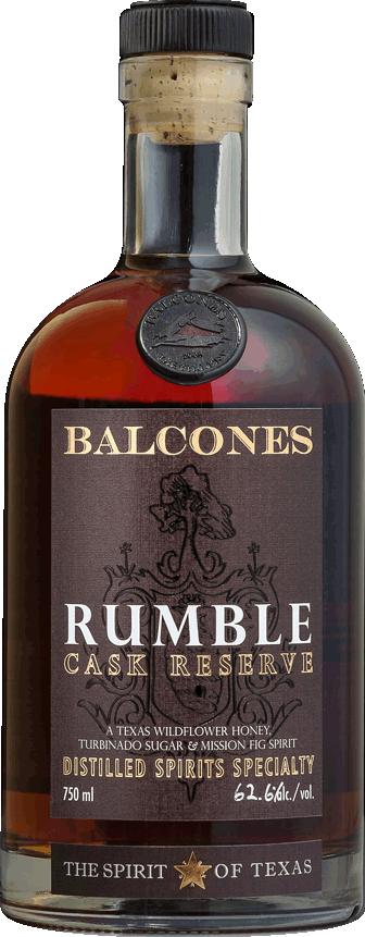 Fles - Whisky - Balcones - Rumble Cask Reserve - 0,7l - 62,6%