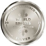 award SF world spirits competition silver 2021
