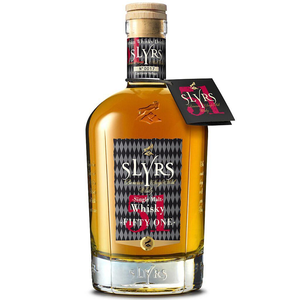 Fles - Whisky - Slyrs - Single Malt - Fifty One - 51% - 0,7l