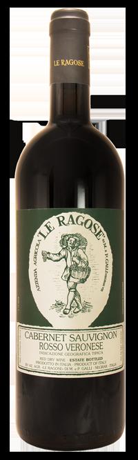 Fles - Wijnen - Italië - Le Ragose - Cabernet Sauvignon - Rosso Verdonese - 0,75l