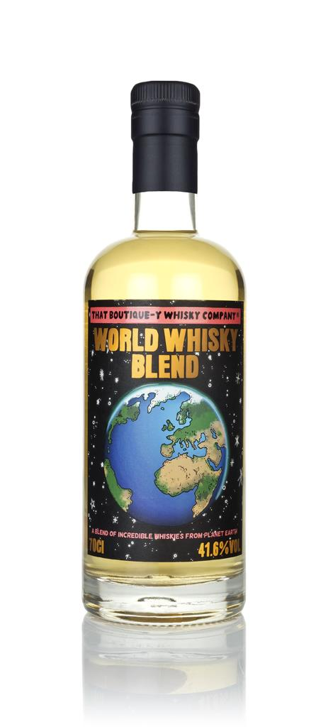 Fles - That Boutique-y Whisky Company - World Whisky Blend - 41,6% - 0,7l
