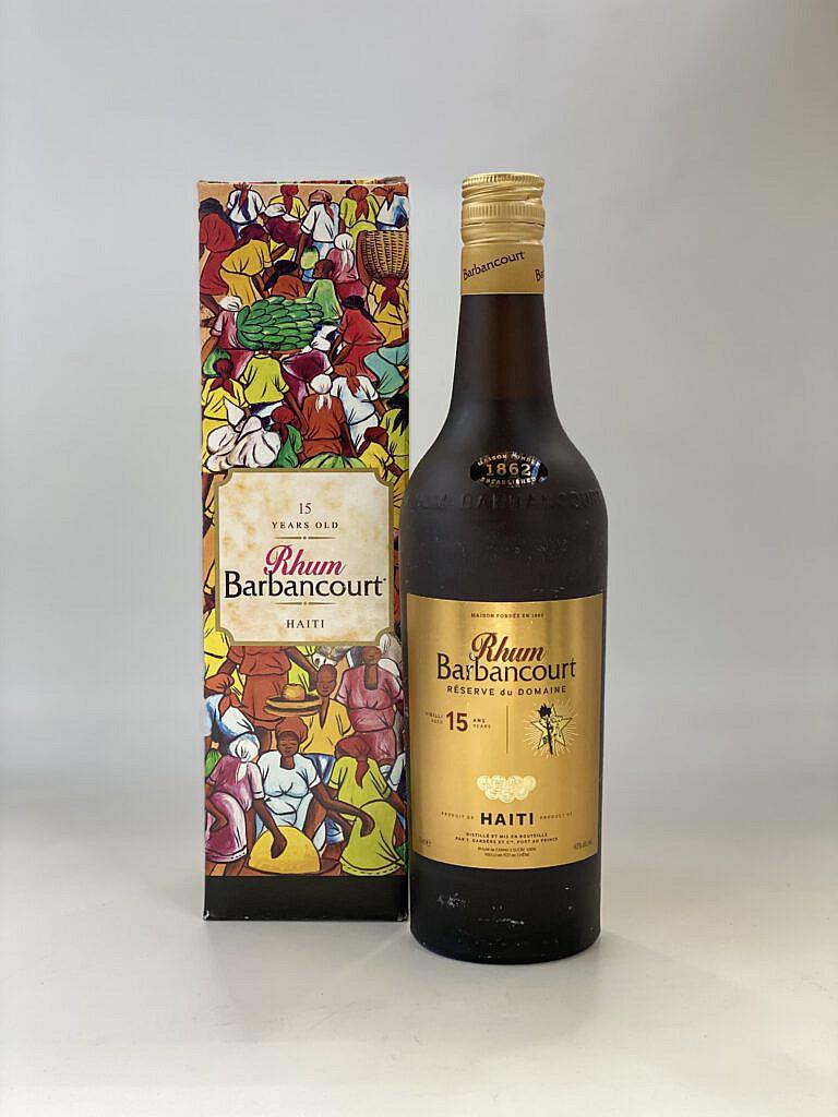 Fles & Case - Rum - Haiti - Barbancourt - 15 years - 43% - 0,7l