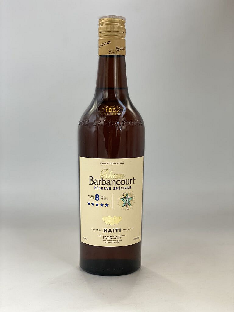 Fles & Case - Rum - Haiti - Barbancourt - 8 years - 43% - 0,7l