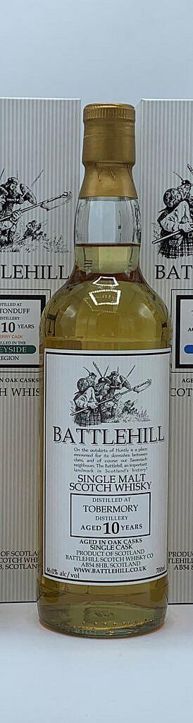 Fles & Case - Whisky - Duncan Taylor - Battlehill Tobermory 10 yrs - 46% - 0,7l