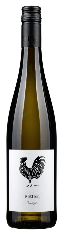 Fles - Wijnen - Duitsland - Franz Hahn Pfalz - Riesling Trocken - 11,9% - 0,75