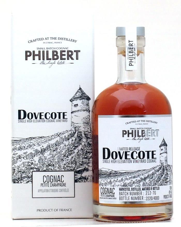 Fles & Case - Cognac - Philbert - Dovecotte Single Vineyard Petite Champagne - 40% - 0,7l