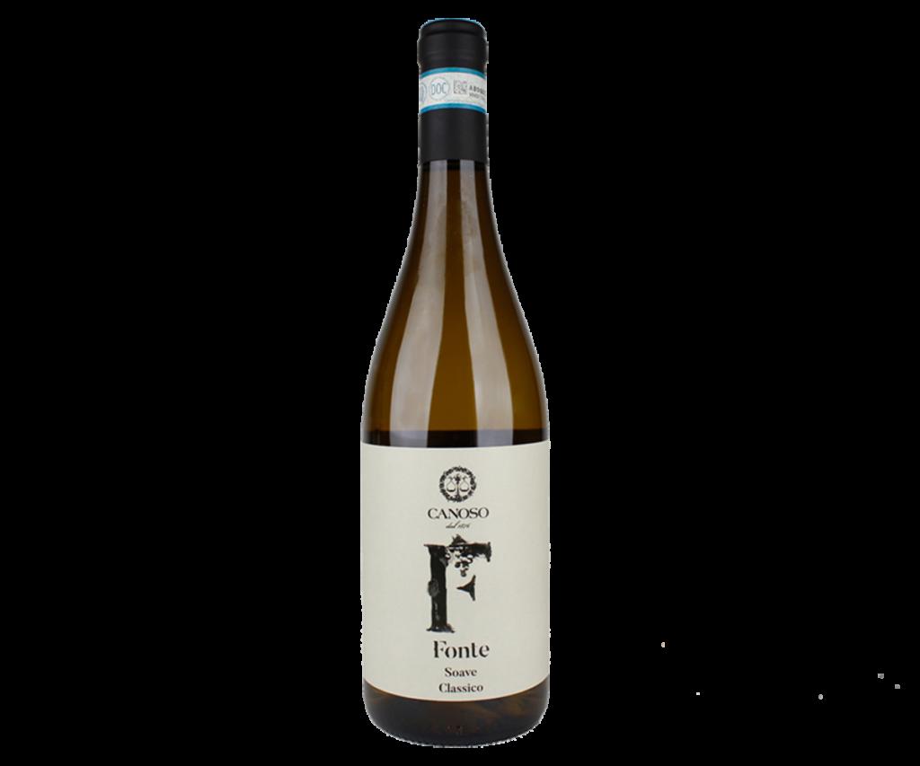 Fles - Wijnen - Italië - Canoso - Soave Classico - Fonte - 2018 - 12,5% - 0,75l