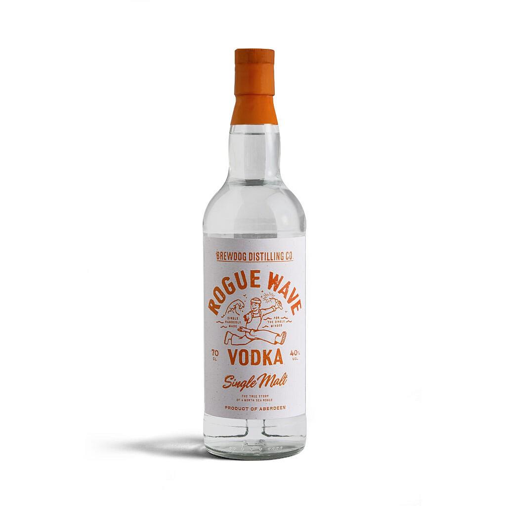 Fles - Vodka - Brewdog - Rogue Wave Vodka - 0,7l - 40%