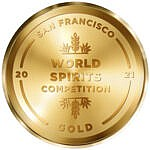 award SF world spirits competition gold 2021