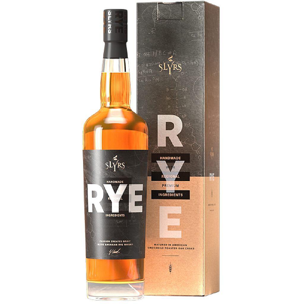 Fles & Case - Whisky - Slyrs - Rye - 41% - 0,7l