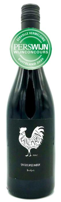 Fles - Wijnen - Duitsland - Franz Hahn - Spatburgunder Spatlese Trocken Perswijn - 0,75l