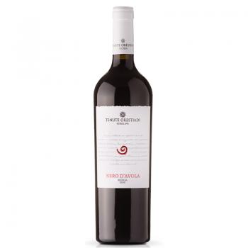 Fles = wijnen - Italië - Tenute Orestiadi - Nero d'Avola - 13% - 0,75l