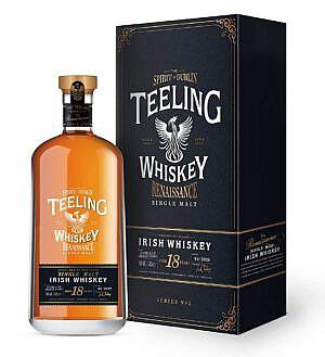 Fles & Case - Whiskey - Ierland - Teeling - Teeling Renaissance 18 Y #2 ex-Shiraz Wine Finish - 0,7l - 46%