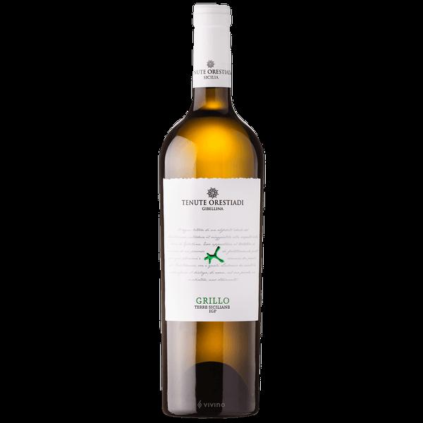 Fles - wijnen - Italie - Tenute Oresiadi - Grillo Bianco - 13% - 0,75l