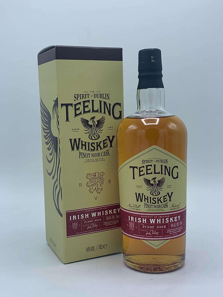 Fles & Case - Whiskey - Ierland - Teeling - Pinot Noir Cask - 46% - 0,7l