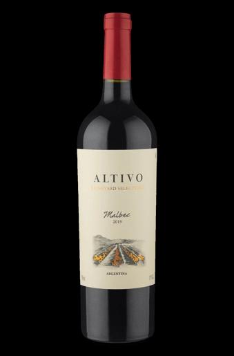 Fles - Wijnen - Argentinië - Finca La Celia - Altivo - Vineyard Selection - Malbec 2019 - 13% - 0,75l