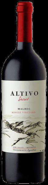 Fles - Wijnen - Argentinië - Finca La Celia - Altivo -Secret Single Vineyard Malbec 2014 - 14,8% - 0,75l
