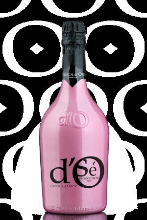 Fles - Wijnen - Italië - Conca d'Oro - Spumante Brut Rosé - Limited Pink Edition - 12,5% - 0,75l