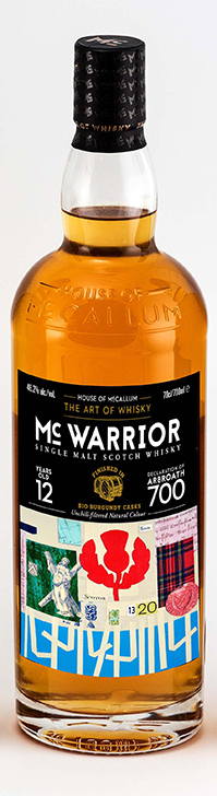 Fles - Whisky - House of McCallum - McWarrior - Arbroath Glenburgie - 46,2% - 0,7l