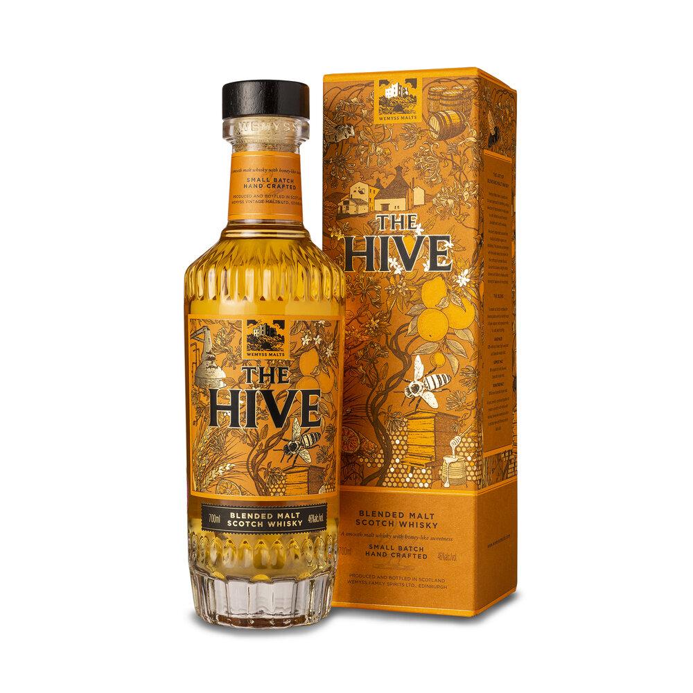 Fles - Whisky - Wemyss - The Hive - blended malt - 2020 - 0,7 - 46%