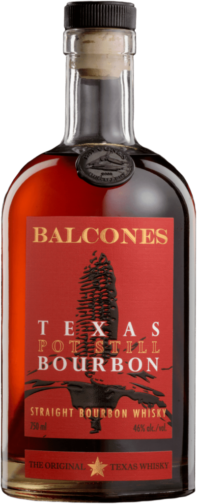 Fles - Whisky - USA Texas- Balcones - Pot Still - Straight Bourbon - 46% - 0,75l