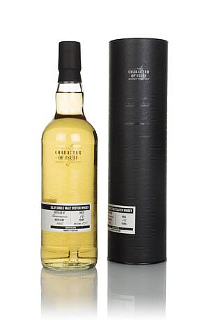 Fles & Case - Character of Islay - WInd & Wave - Bowmore - 16yrs - 0,7l - 49,9%