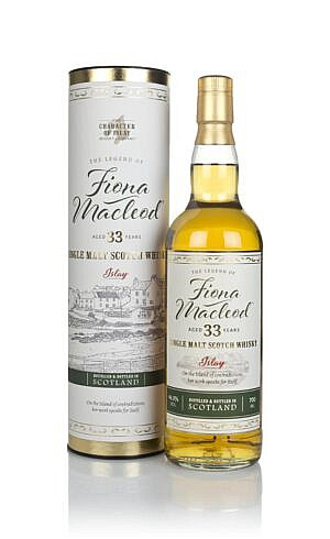 Fles & Case - Character of Islay - WInd & Wave - Fiona Macleod - 33 yrs - 0,7l - 46,3%