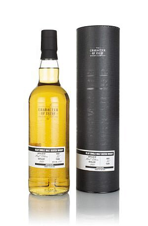 Fles & Case - Character of Islay - WInd & Wave - Port Ellen - 35yrs - 0,7l - 47,9%